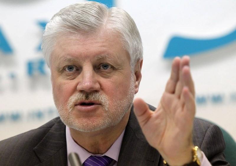 Сколько зарабатывает бывший кандидат в президенты Миронов?