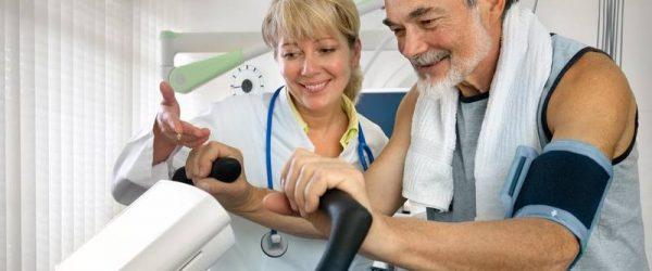 Пенсионер на санитарно-курортном лечении