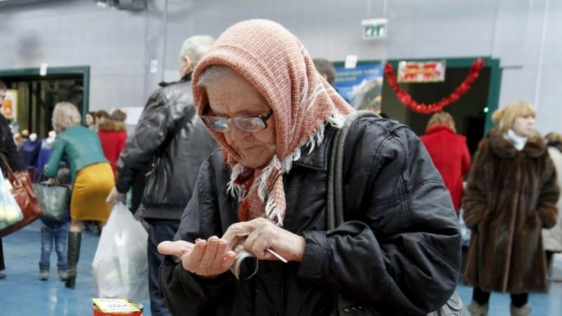 Реальные пенсии россиян снова падают