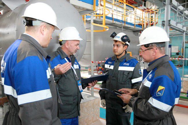 Работники «Газпрома»