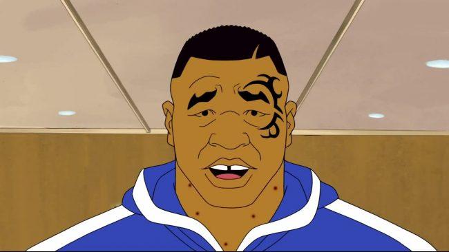 Кадр из анимационного сериала «Следствие ведёт Майк Тайсон / Тайны Майка Тайсона»