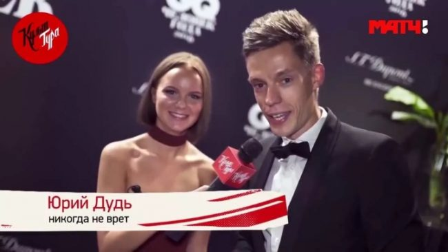 Юрий Дудь на канале «Матч ТВ»