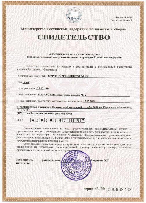 Свидетельство о регистрации ип скачать программа просмотра декларации 3 ндфл