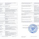 Выписка из ЕГРИП, листы №3–4