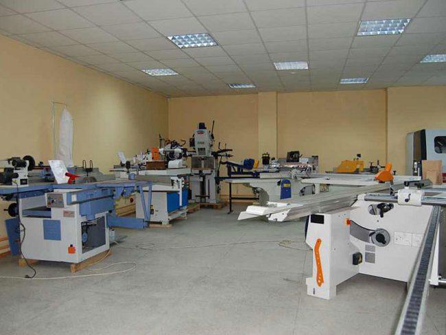 Выставочный зал оборудования