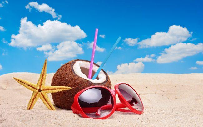 Пляж и атрибуты отдыха