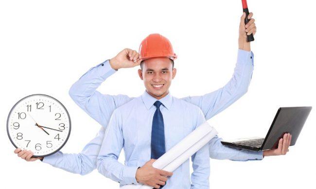 Многорукий работник