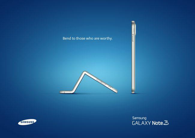 Реклама Samsung, троллящая Apple
