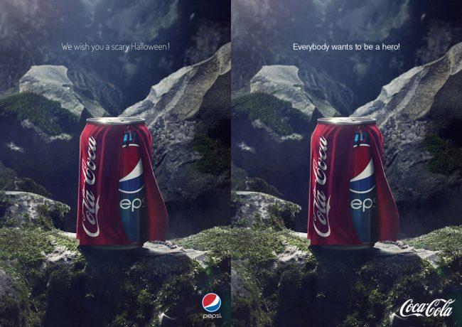Реклама Pepsi с троллингом Coca-Cola