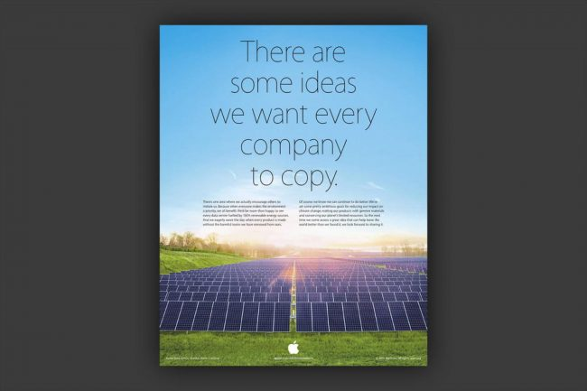 Реклама Apple, троллящая Samsung