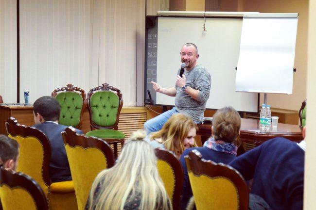 Артём Шейнин на своём мастер-классе