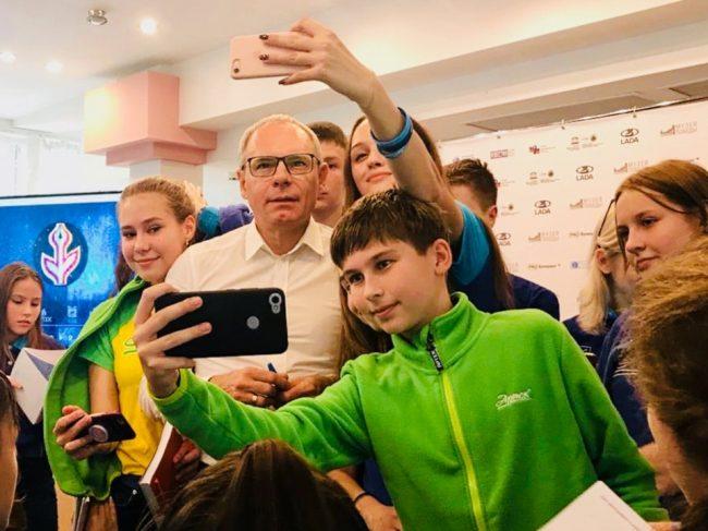 Игорь Прокопенко на творческой встрече