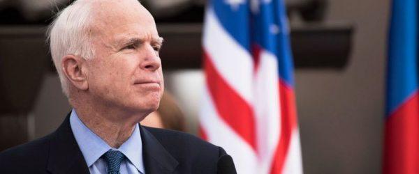В честь американского сенатора Маккейна в Киеве назвали улицу