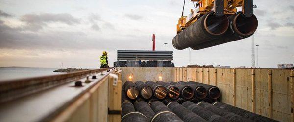 «Газпром» проложил 40% газопровода «Северный поток-2»