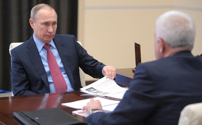 Президент Владимир Путин проведёт встречу с главою компании «Лукойл»