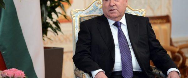 Президент Таджикистана прибыл в Москву с официальным визитом