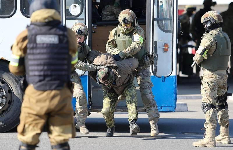 Число террористических преступлений в России сократилось в 100 раз