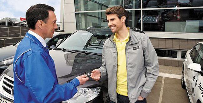 Покупка автомобиля в салоне продаж