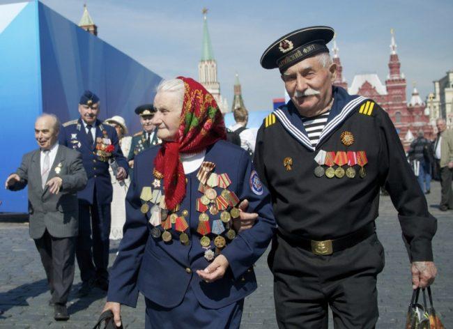 Ветераны ВОВ с орденами