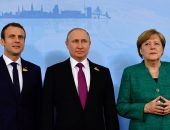 Меркель, Макрон и Путин обсудили кризис на Украине
