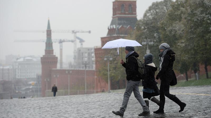 В ближайшие выходные в Москве снега не будет