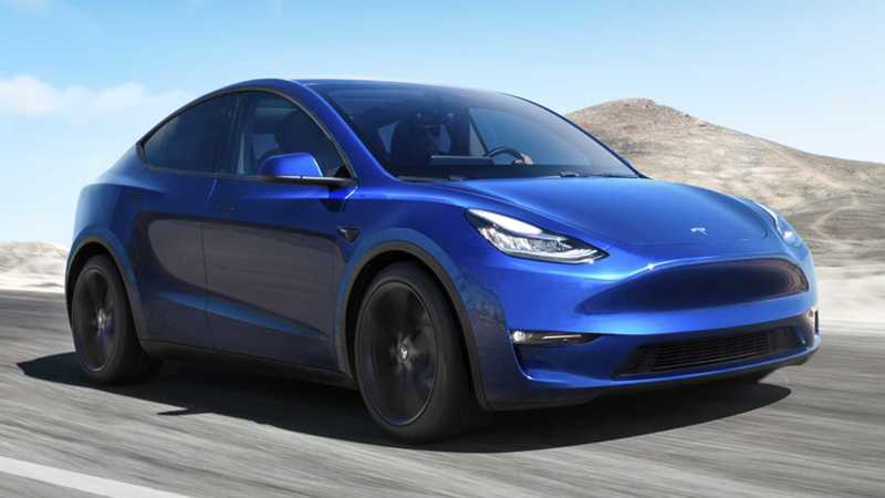 НовыйTesla Model Y начнут производить в сентябре 2020 года