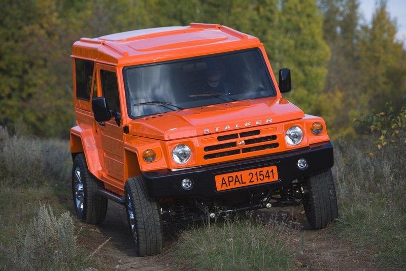 Стала известна официальная стоимость внедорожникаАпал-21541 «Сталкер»