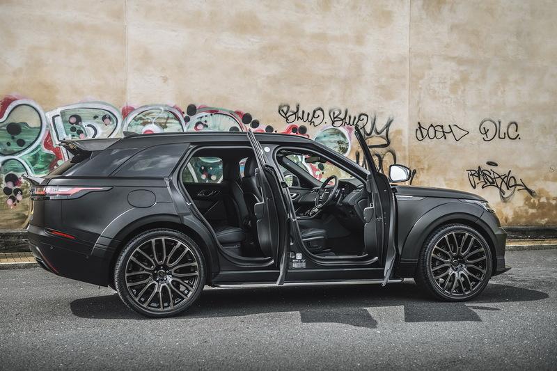 Kahn Design презентовали тюнинговую версиюRange Rover Velar