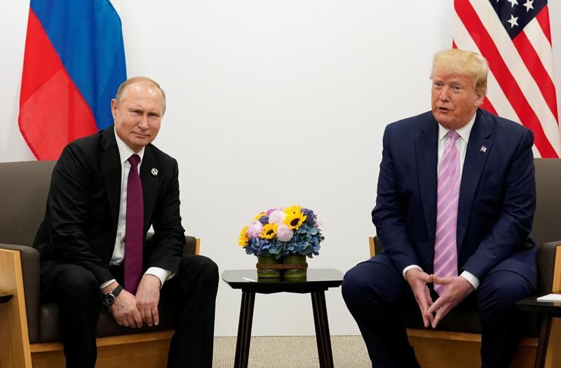 Трамп предложил Путину помощь в борьбе с лесными пожарами