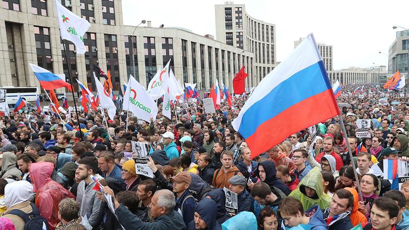 Оппозиция подала заявку на шествие в Москве 24 августа