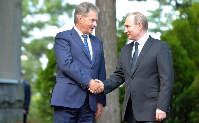 Владимир Путин посетит Финляндию с рабочим визитом 21 августа