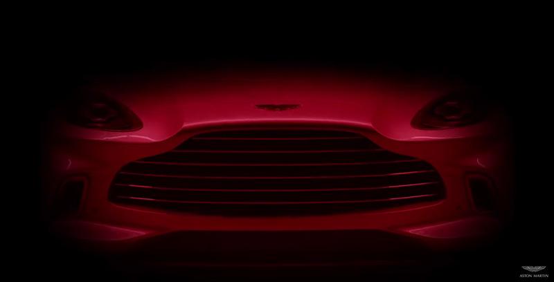 Появился новый тизер первого кроссовера Aston Martin