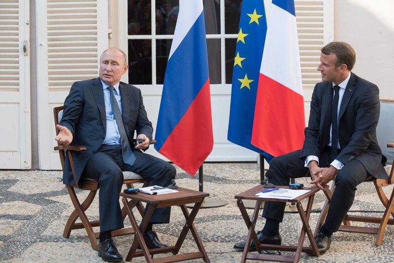 Макрон приветствует присоединение России к Парижскому соглашению по климату