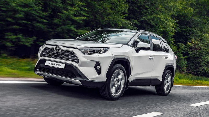 Новый Toyota RAV4 начнут выпускать в России