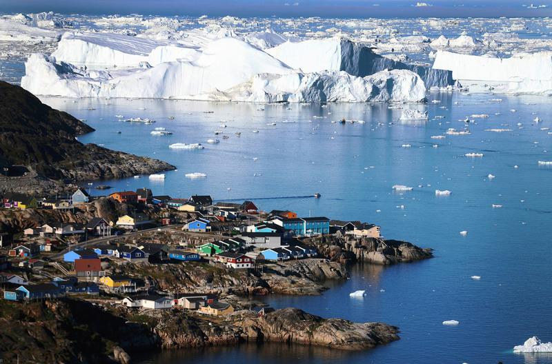 Стало известно, чтоСША предлагали Дании продать Гренландию год назад
