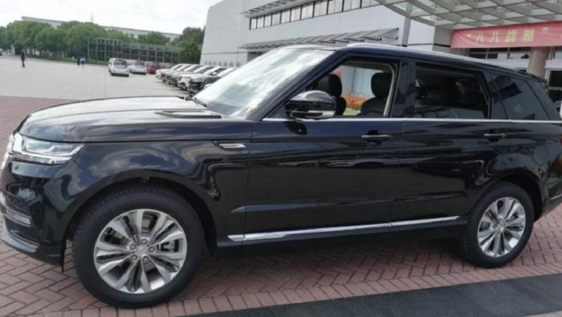 Китайцы клонировали Range Rover