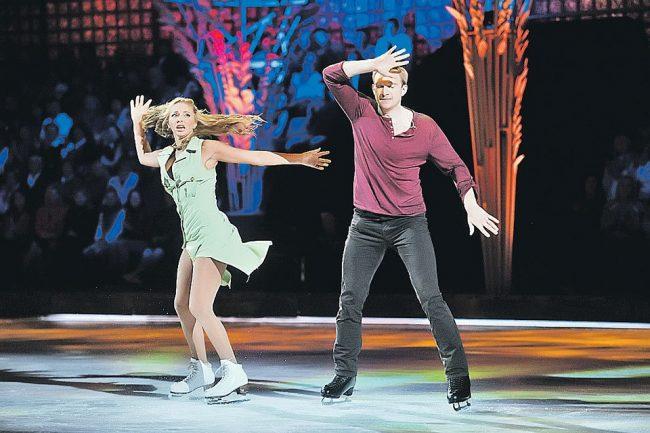 Татьяна Навка и Андрей Бурковский