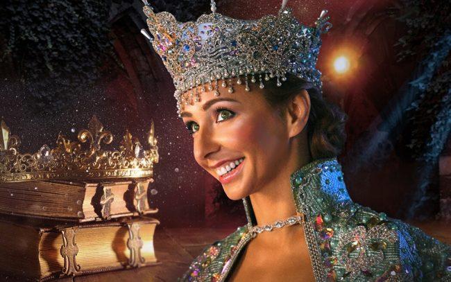 Татьяна Навка в короне