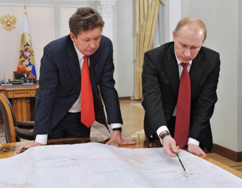 «Газпром» изучит вариант поставки газа в Китай через Монголию