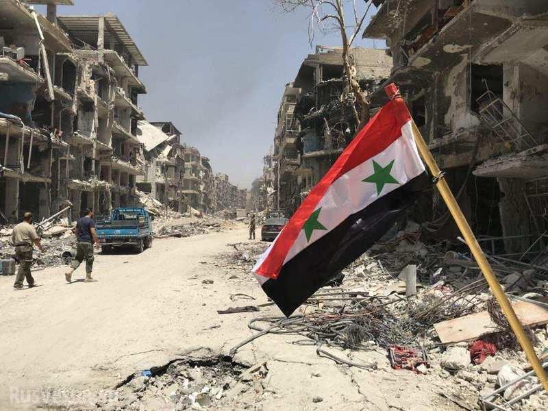 В МИД России заявили об уничтожении главных сил террористов в Сирии
