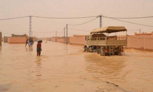Наводнение в Сахаре