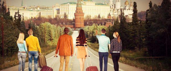 Парни и девушки в Москве