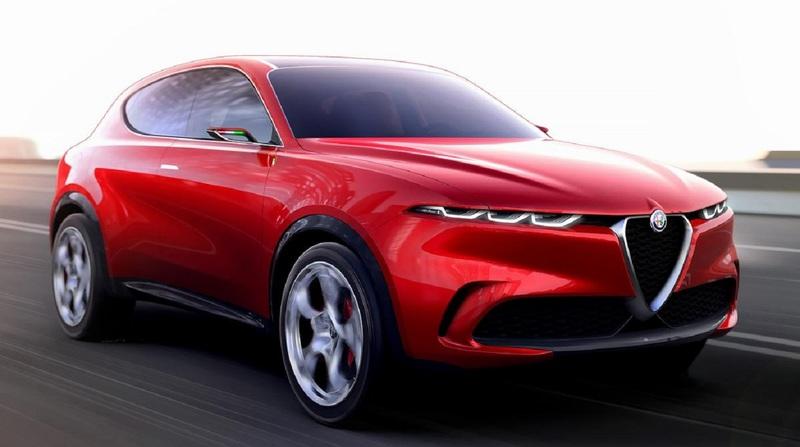 В Сети показали фото нового кроссовера Alfa Romeo Tonale