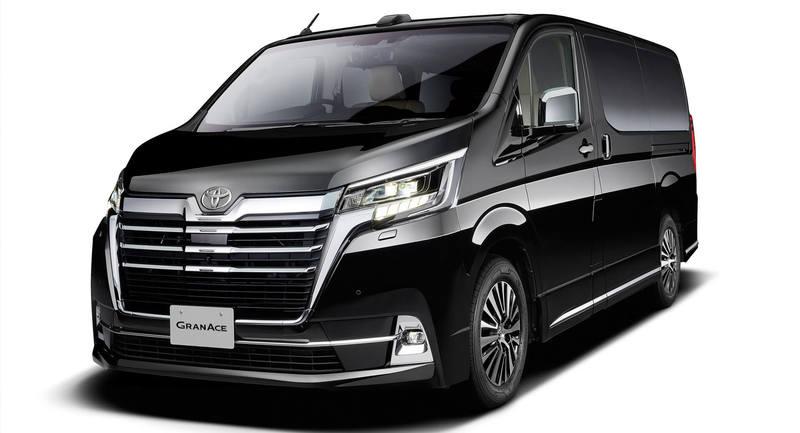 Toyota показала новый внедорожный минивэн Granace