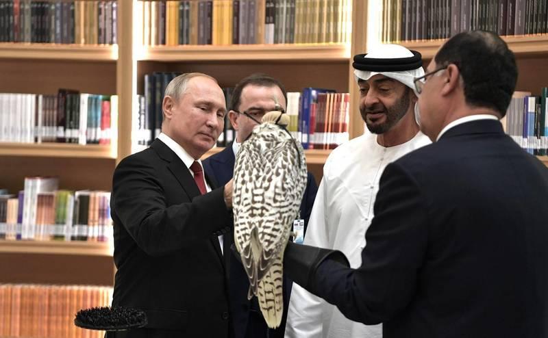Посольство в ОАЭ объяснило сопровождение кортежа Путина машинами ДПС